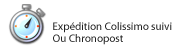Livraison 24/48H : exp�dition Colissimo suivi, Chronopost, Chrono-relais
