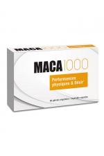 Maca 1000 (60 gélules) - Aphrodisiaque à base de plantes (Maca + Guarana), qui stimule le désir sexuel, la libido et renforce l'organisme.