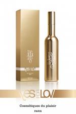 Parfum réjouissance Femme (100ml) - Une fragrance pour femme nommée Réjouissance, aux caractéristiques très coquines, par YesForLov. Flacon de 100 ml.