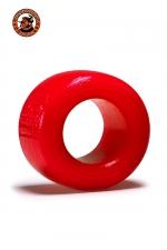 Balls-T Ballstretcher - rouge - Le ball-stretcher phare de la marque Oxballs, en version  small , coloris rouge, plus accessible et utilisable pour s'entrainer.