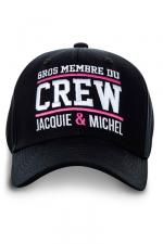 Casquette Jacquie et Michel Crew - Casquette  Gros membre du Crew Jacquie & Michel  pour bien montrer qu'il y a du lourd sous le capot !