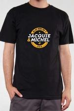 T-shirt J&M n°3 (taille S XL 3XL) - Le Teeshirt exclusif (visuel 3) à l'effigie de  Jacquie & Michel, votre site amateur préféré.