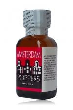 Poppers Amsterdam 24 ml - Un arôme liquide aphrodisiaque puissant, à base de Nitrite d'isopropyle.